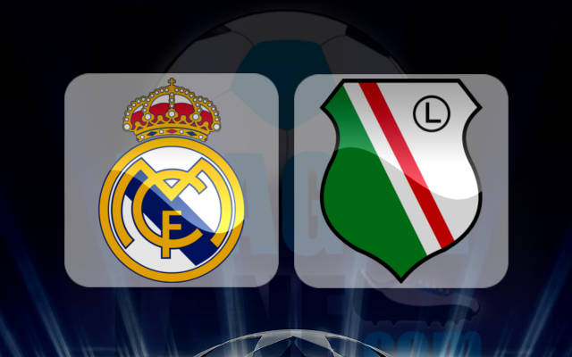 Real Madrid vs Legia Warsaw