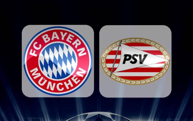 Bayern Munich vs PSV Eindhoven