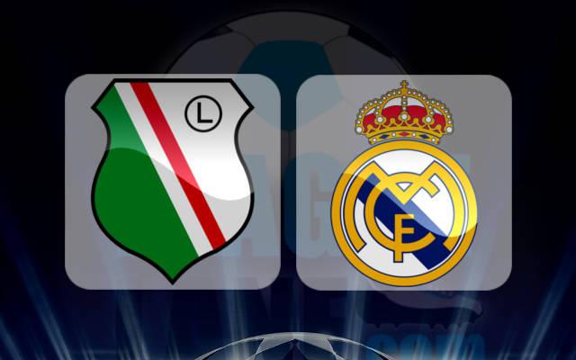 Legia Warsaw vs Real Madrid