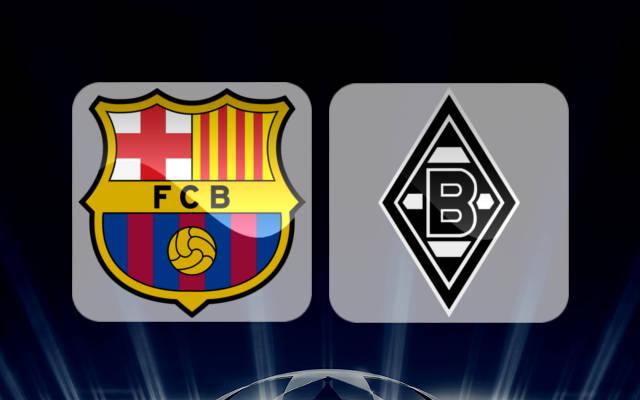 Barcelona vs Monchengladbach