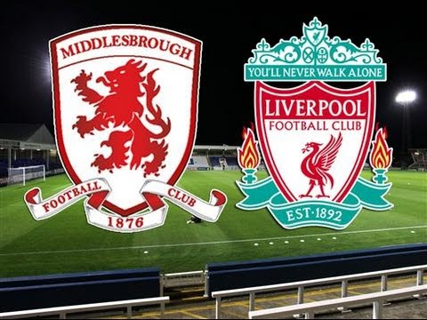 Liverpool vs Middlesbrough
