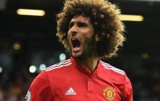 Tiền vệ Man United Marouane Fellaini