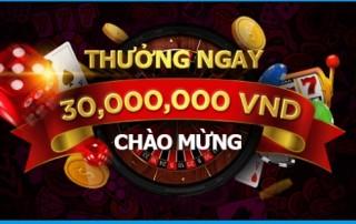 Happyluke khuyến mãi thành viên mới lên tới 30,000,000 VND
