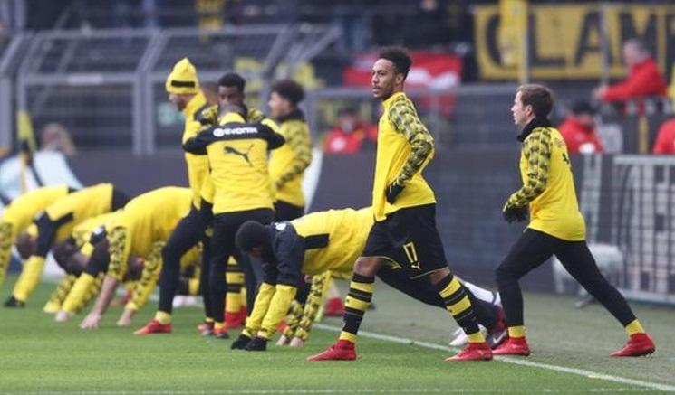 Arsenal gần hoàn thành thương vụ 60 triệu bảng Anh cho tiền đạo Borussia Dortmund Pierre-Emerick Aubameyang