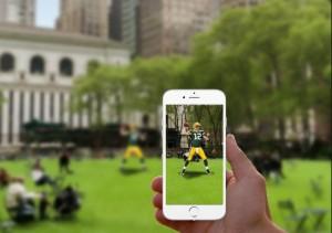 AR Sports công bố bằng sáng chế cho thể thao ảo thực tế tăng cường