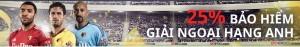 138.com áp dụng 25% bảo hiểm cược đơn trận Watford FC vs Everton - Tham gia ngay