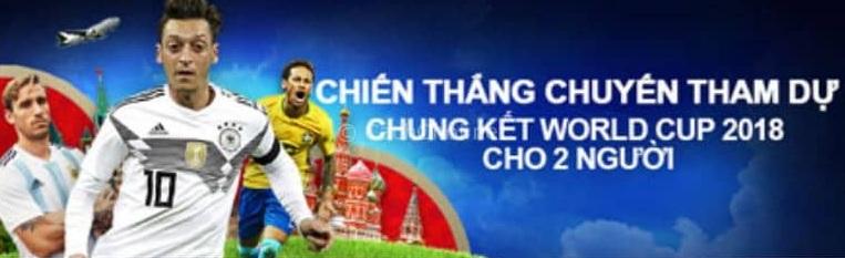 Giành vé đi xem chung kết World Cup 2018 từ nhà cái M88