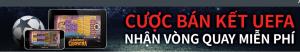 Tham gia cược bán kết lượt về Cúp C1, nhận vòng quay miễn phí từ 138.com