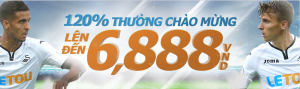 Nhà cái Letou thưởng chào mừng đăng ký thể thao 120%
