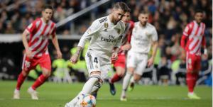 Ramos hạnh phúc khi được đảm nhận việc đá phạt đền từ Ronaldo