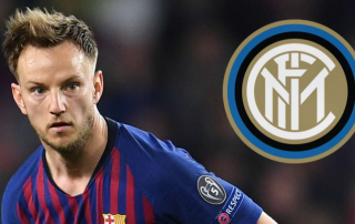 Inter sắp sửa có ngôi sao Barcelona Rakitic với giá 50 triệu euro