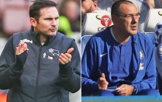 Maurizio Sarri rời Chelsea đến Juventus và Frank Lampard đang chờ đợi
