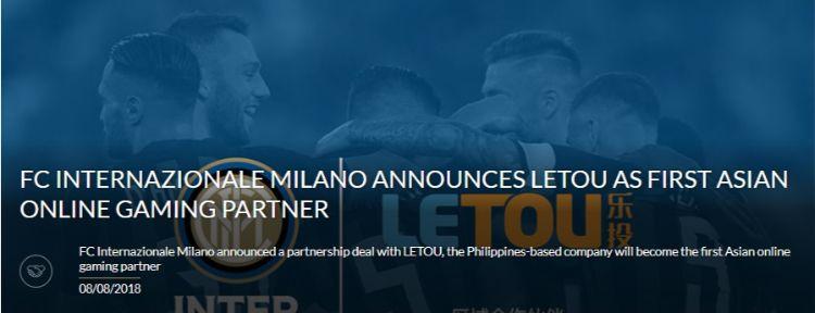 Đối tác của CLB Inter Milan
