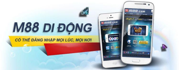 ứng dụng di động m88
