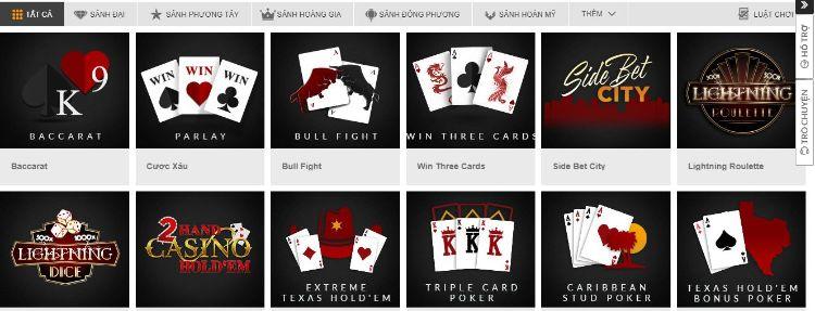 các game casino online
