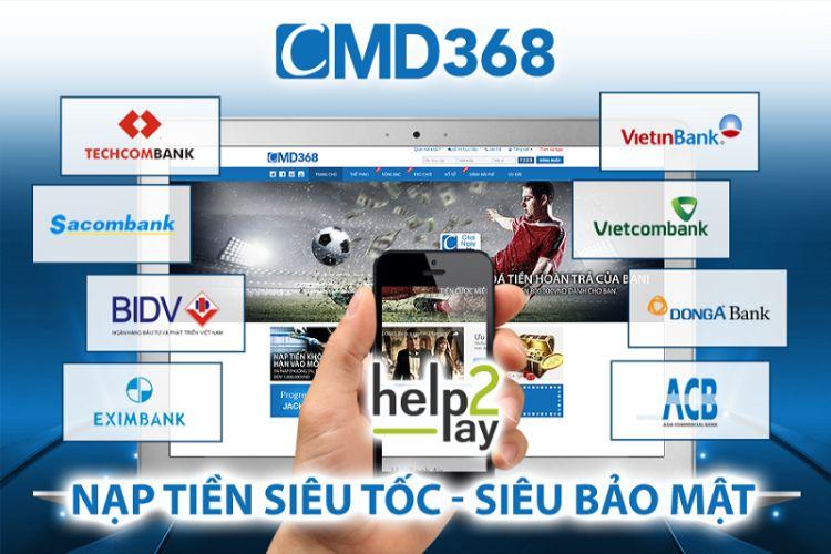 gửi tiền nhà cái cmd368